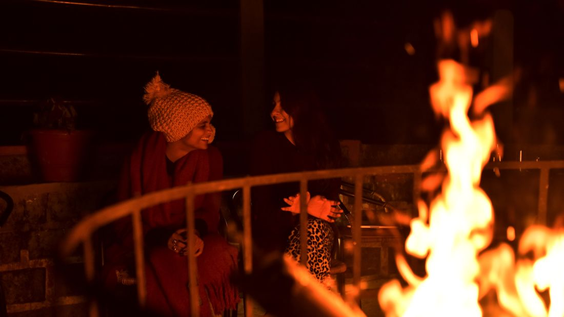 Bonfire at Polo Orchid Resort, Cherrapunji Resort