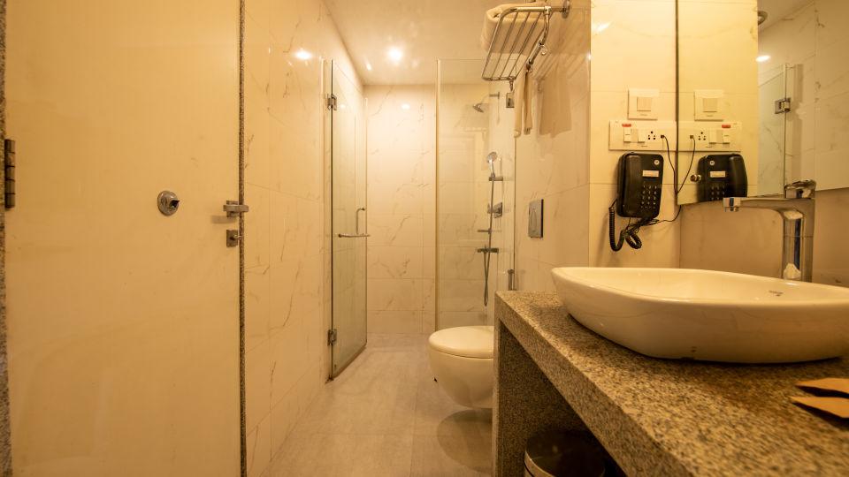 Executive Premium room washroom