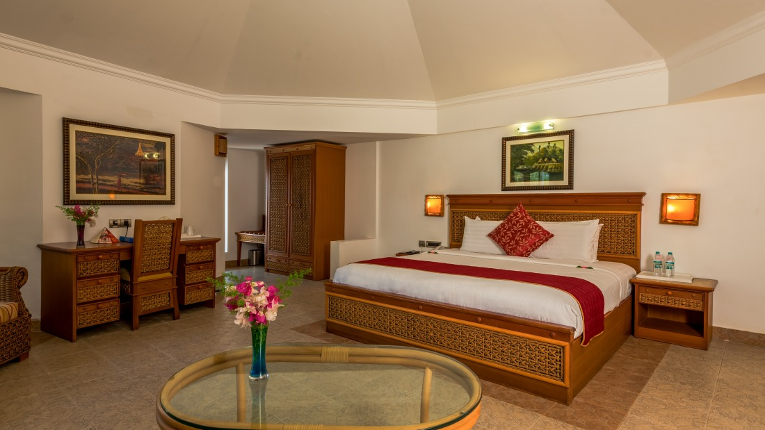 Chariot Cottage Room at Chariot Beach Resort in Mahabalipuram 1