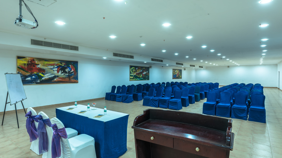 Conference 2 layout 1 at Chariot Beach Resort in Mahabalipuram 2
