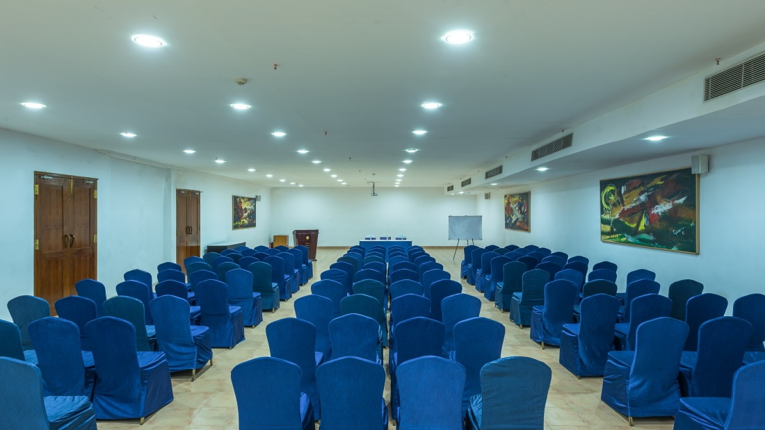 Conference 2 layout 1 at Chariot Beach Resort in Mahabalipuram 4
