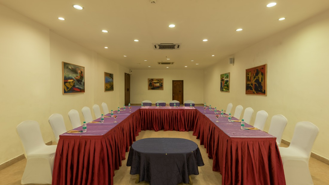 Conference 3 Layout 1 at Chariot Beach Resort in Mahabalipuram 4