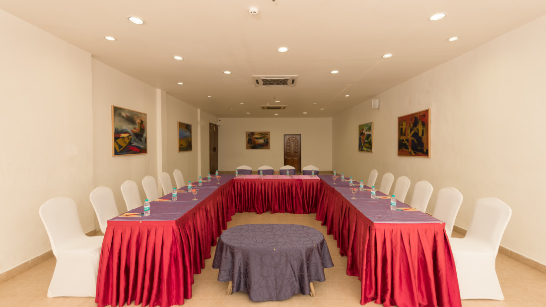Conference 3 Layout 1 at Chariot Beach Resort in Mahabalipuram 5