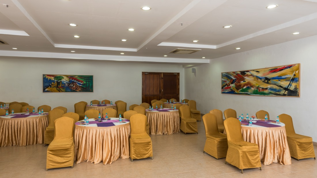 Conference Room 1 Layout 1 at Chariot Beach Resort in Mahabalipuram 1