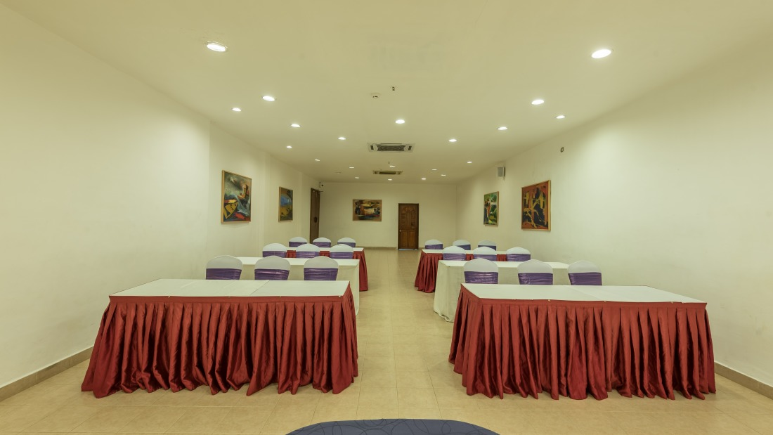 Conference Room 3 Layout 2 at Chariot Beach Resort in Mahabalipuram 1