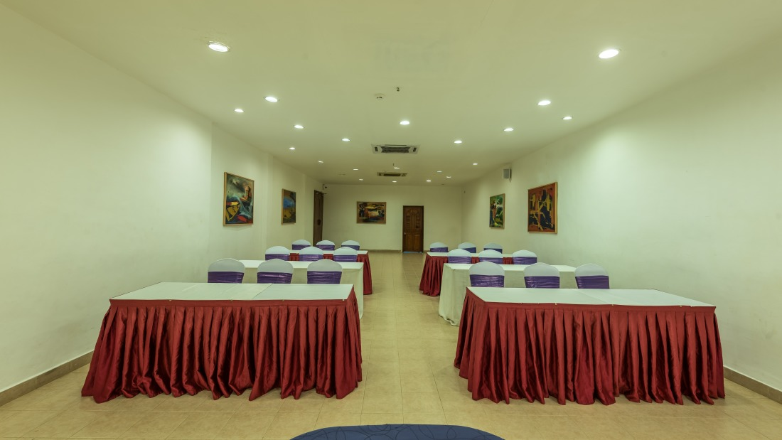 Conference Room 3 Layout 2 at Chariot Beach Resort in Mahabalipuram 3