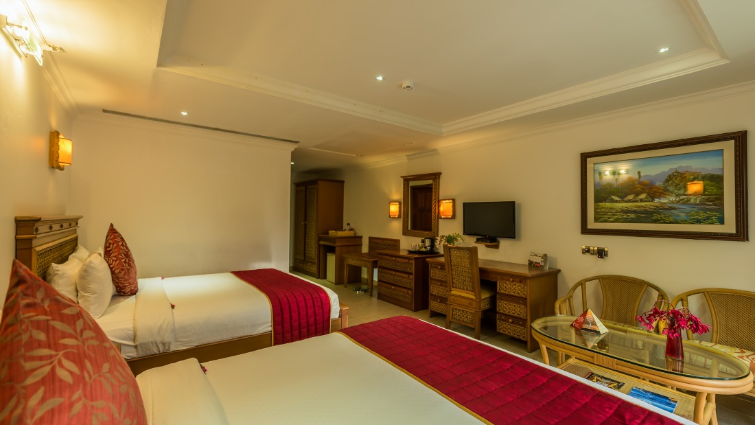 Deluxe Room at Chariot Beach Resort in Mahabalipuram 1