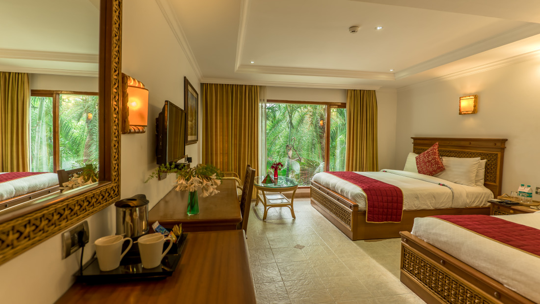 Deluxe Room at Chariot Beach Resort in Mahabalipuram 2