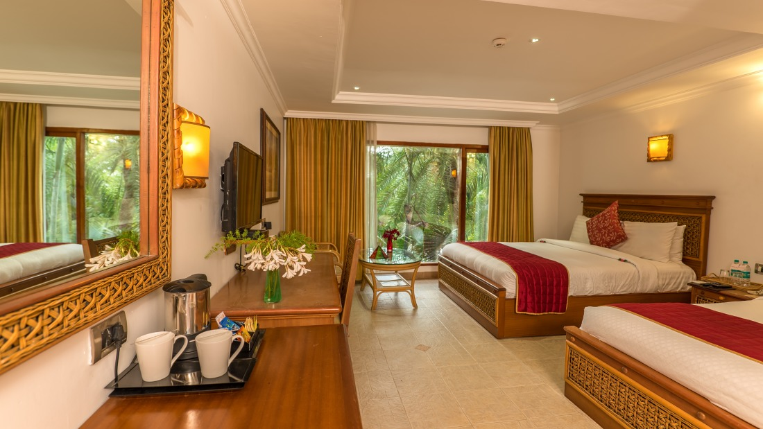Deluxe Room at Chariot Beach Resort in Mahabalipuram 3