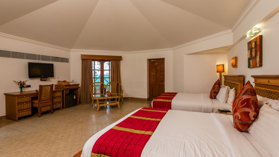 Delxuxe Chariot Cottage at Chariot Beach Resort in Mahabalipuram 1