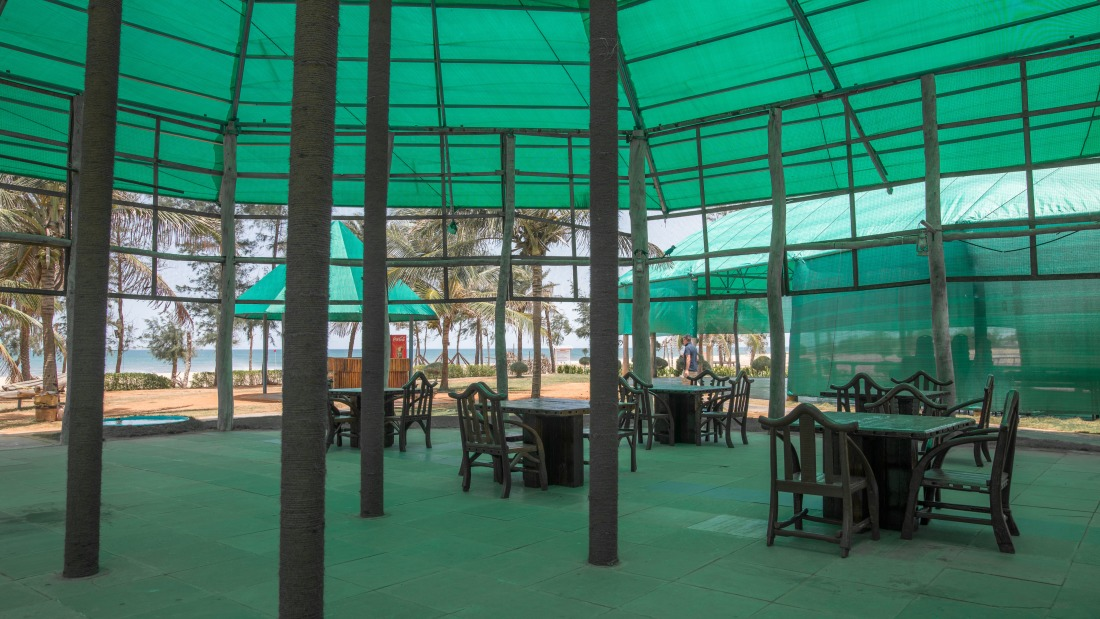 Premises of Chariot Beach Resort in Mahabalipuram 4