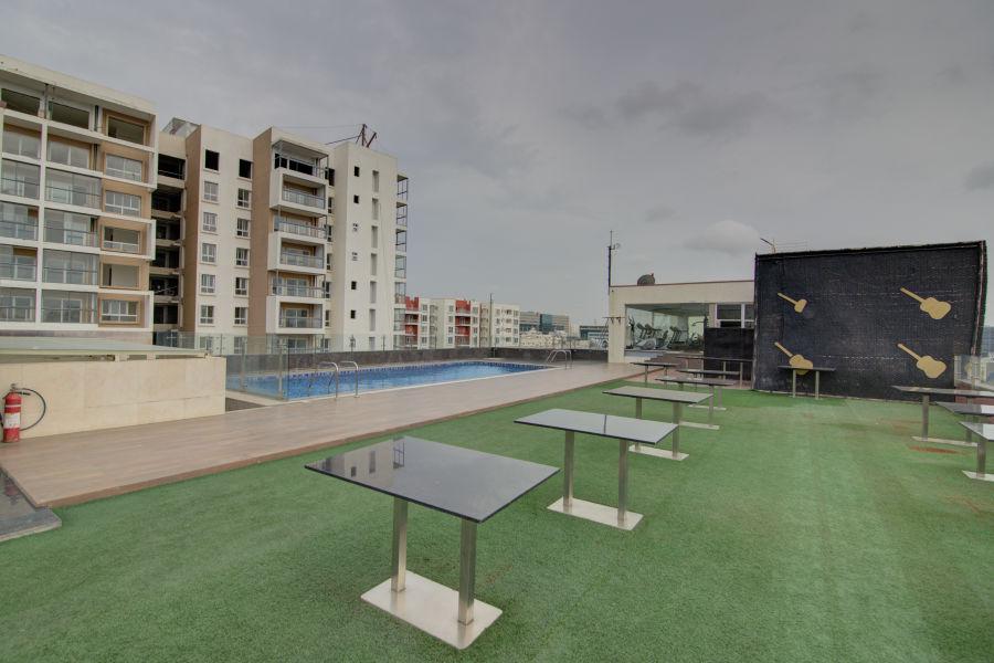 alt-text business hotel in Bangalore Terrace   Icon Premier, Devarabisanahalli