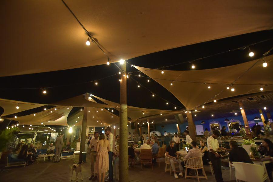 alt-text Morjim Beach Party, Living Room Beach Resort, Goa, Events in Morjim 18