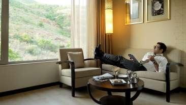 Relaxing at Marasa Sarovar Premiere Tirupati Best Hotels in Tirupati Sarovar Hotels 1