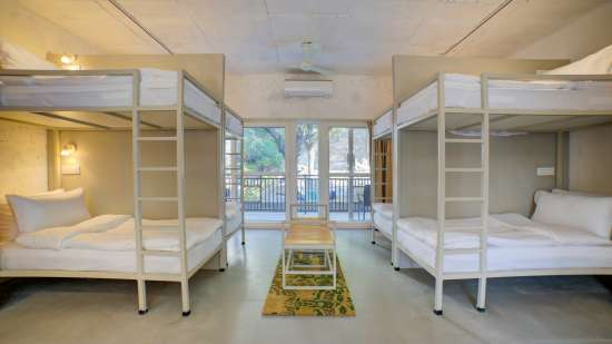 Bunk Beds 1 at The Hideaway Bedzzz Rishikesh