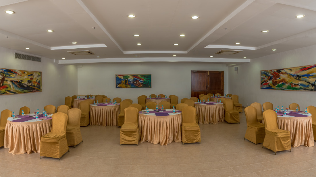 Conference Room 1 Layout 1 at Chariot Beach Resort in Mahabalipuram 2