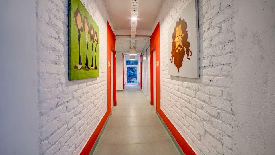 Corridor 1 at The Hideaway Bedzzz Rishikesh