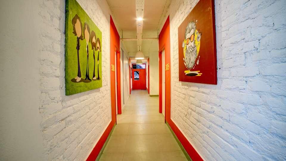 Corridor 2 at The Hideaway Bedzzz Rishikesh