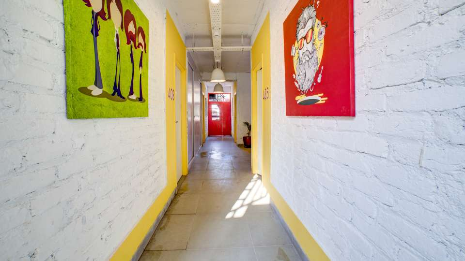 Corridor at The Hideaway Bedzzz Rishikesh