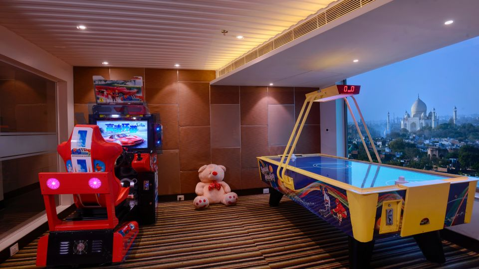 Play Room at Crystal Sarovar Premier Agra 5 star hotels in Agra