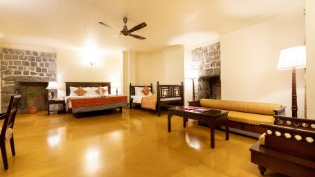 Suites in Pune, Stay in Pune, Fort Jadhavgadh, Pune