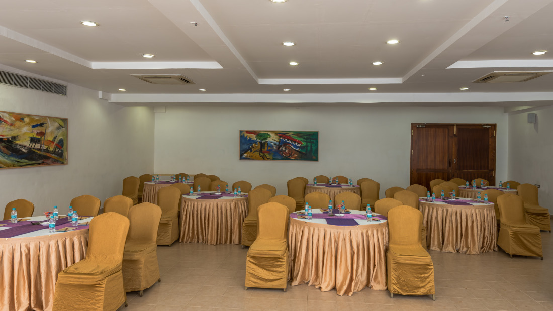 Conference Room 1 Layout 1 at Chariot Beach Resort in Mahabalipuram 3