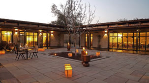 Courtyard,  Bori Safari Lodge, Betul, Resort near Bori Wildlife Sanctuary