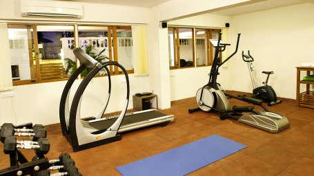 Fitness Centre of Quality Inn Ocean Palms Goa