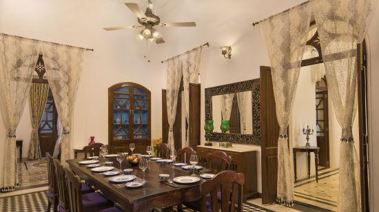 Dining    Bara Bungalow, South Goa 22