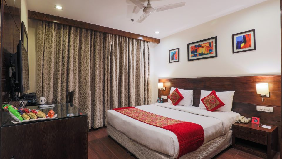 Standard rooms at our hotel in Nehru Place, Best places to stay near Delhi Nehru Place, BlueStone Hotel, Nehru Place, New Delhi