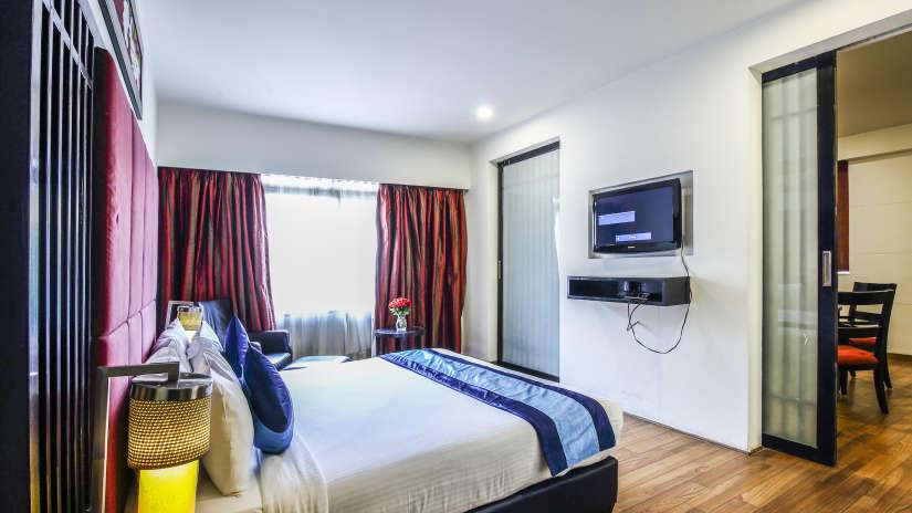 Rooms in Banjara Hills, Stay in Banjara Hills, Hotel Mint Ebony