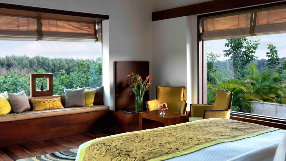 Terrace Villa Bedroom, The Serai Chikmagalur, Stay in Chikmagalur, Luxury Resorts in Chikmagalur 1
