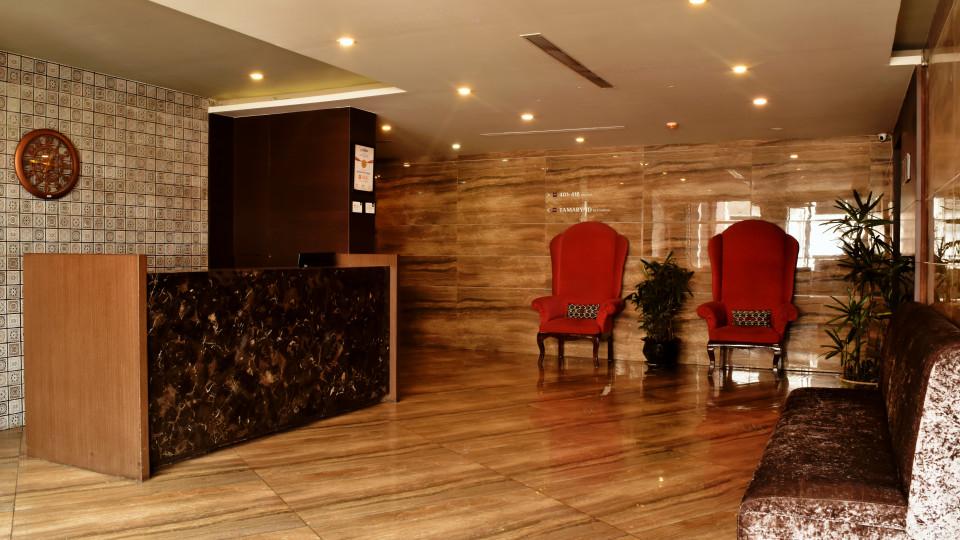 Lobby at Mount Milestone Hotel Banquets Siliguri