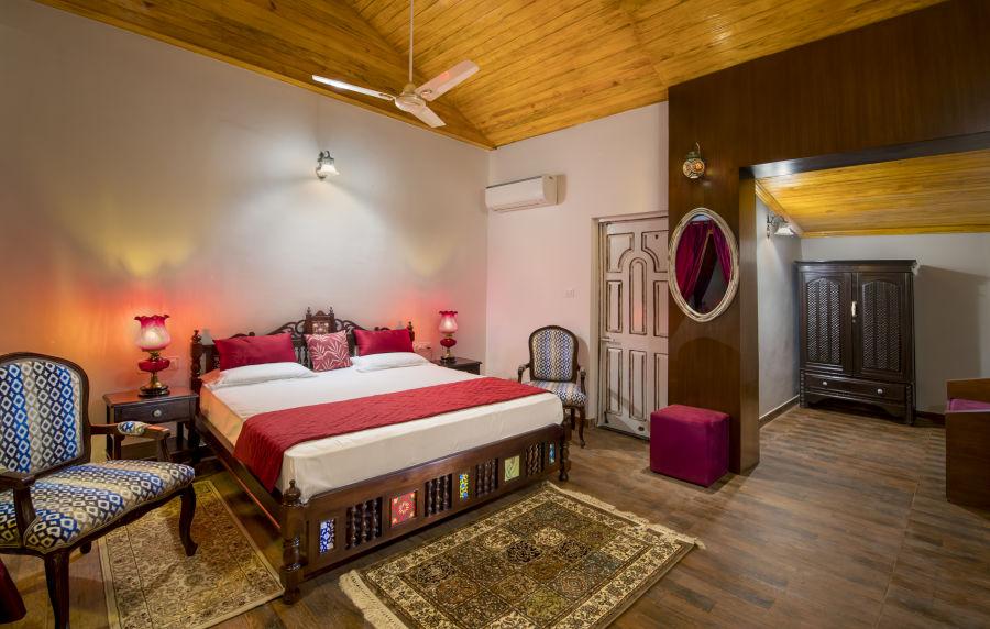 alt-text Suite Room | Bara Bungalow, South Goa 44