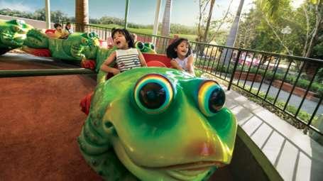 7 Kids Zone in Wonderla Bengaluru Wonderla Amusement Park in Bangalore Bangalore Park JUMPING FROG 1