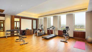 Gym at Hotel Seyfert Sarovar Portico Dehradun 1