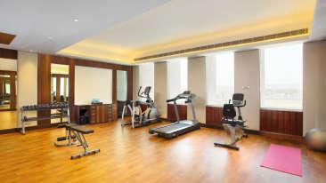 Gym at Hotel Seyfert Sarovar Premiere Dehradun 2