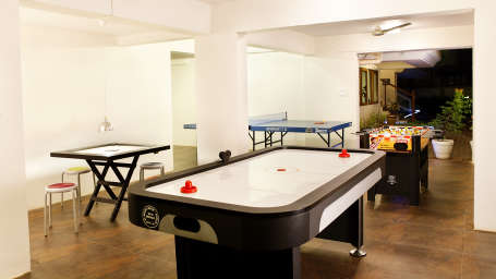 Ocean Palms Goa Indoor Games at Ocean Palms Goa