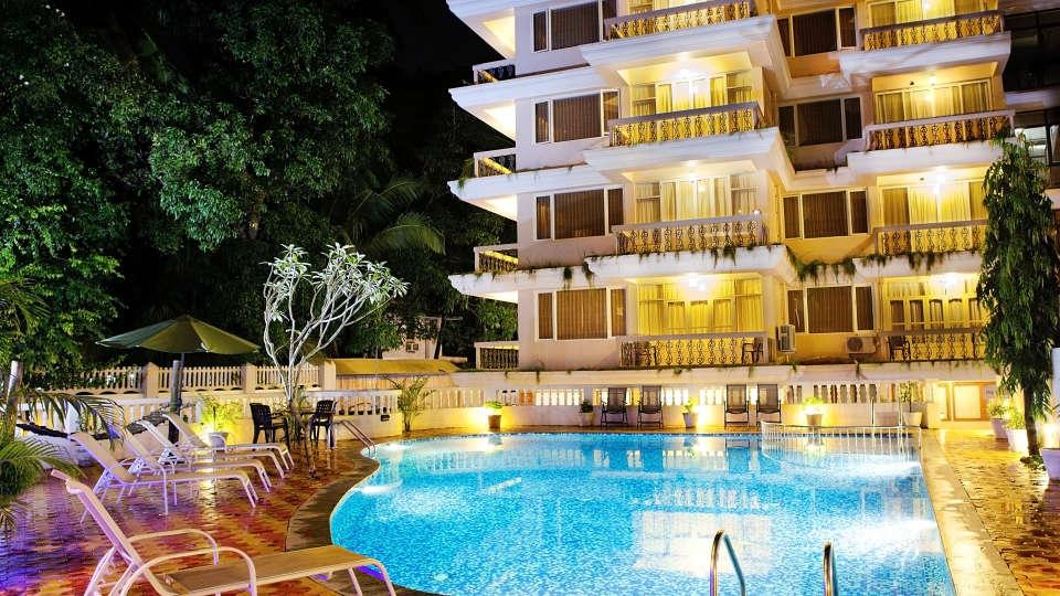 Quality Inn Ocean Palms Goa Swimming Pool of Quality Inn Ocean Palms Goa 2