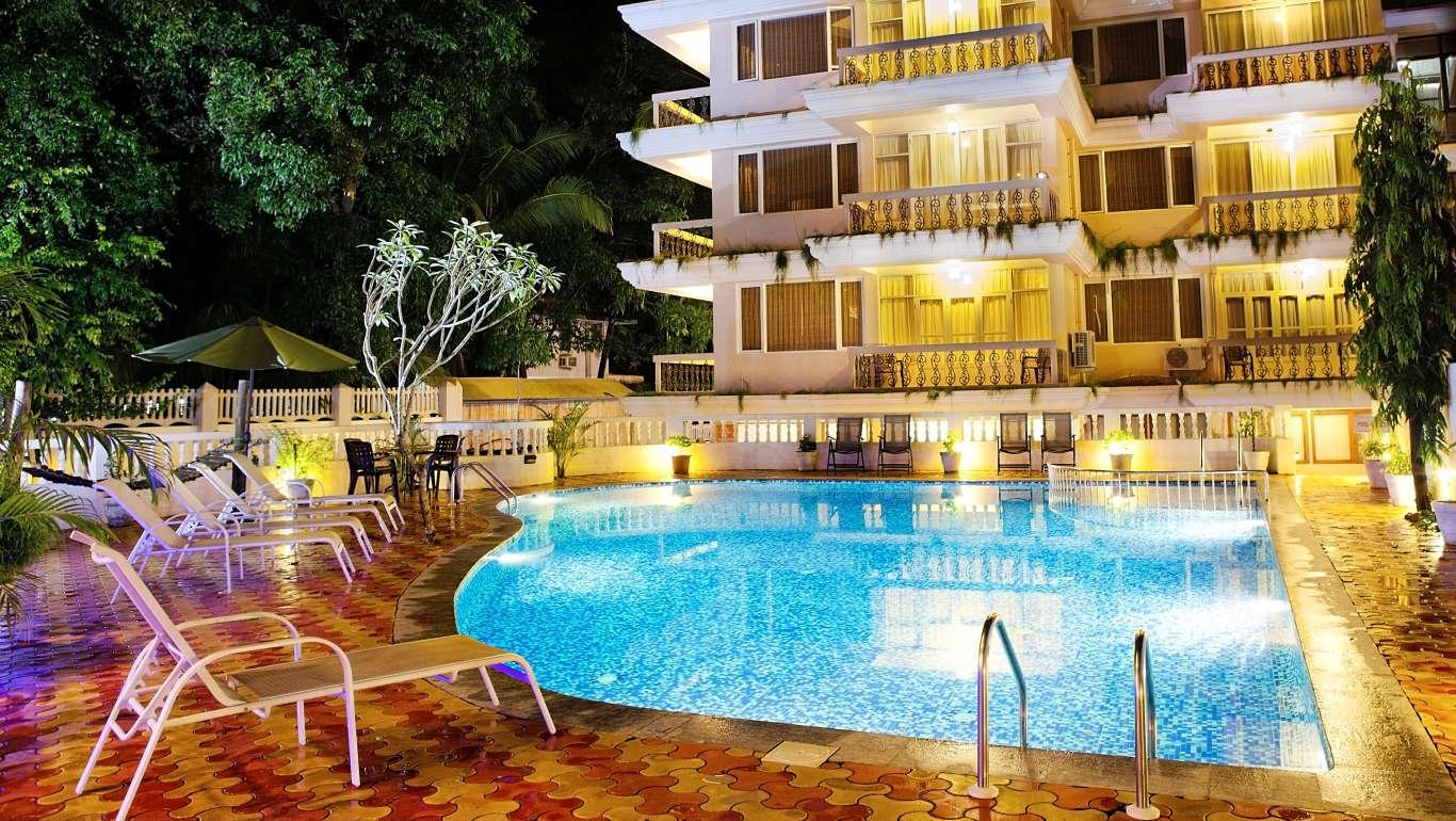 Ocean Palms Goa Resort Calangute Resort Candolim Resorts