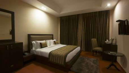 Hotel Aura IGI Airport, New Delhi New Delhi Premium room Hotel Aura Airport New Delhi 1
