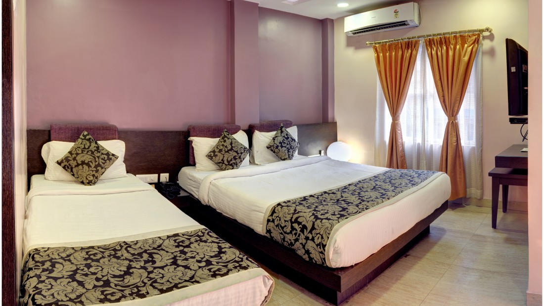 Deluxe Room at Mount Embassy Hotel in Siliguri 1