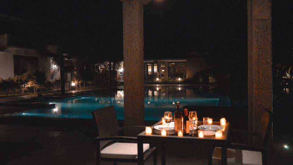 Romantic poolside 2
