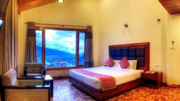 Deluxe Plus Rooms Summit Chandertal Regency Hotel Spa Manali Hotels in Manali