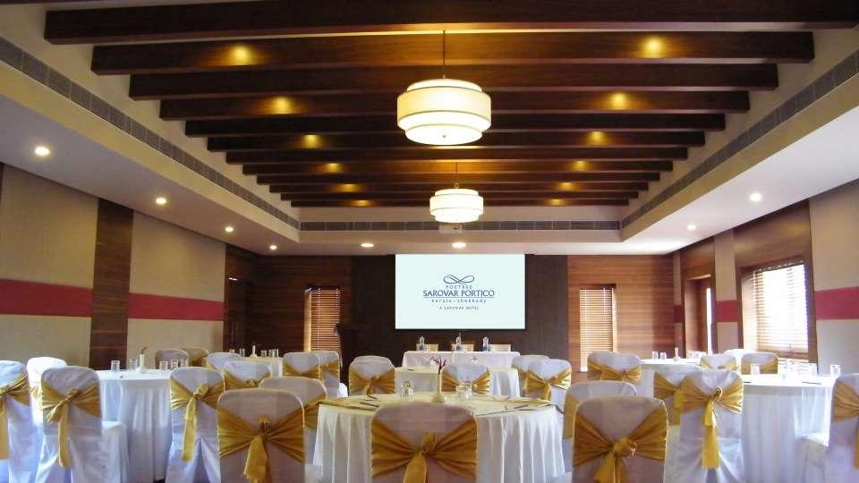 Sadassu Banquet Hall at Poetree Sarovar Portico Thekkady, hotels in thekkady with banquet halls