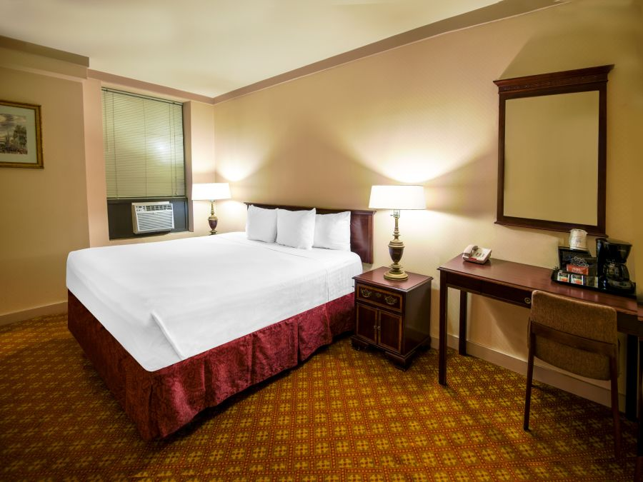 King Size Rooms at Night Hotel Broadway