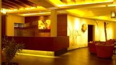 Reception Lobby at Poetree Sarovar Portico Thekkady, thekkady resorts 3