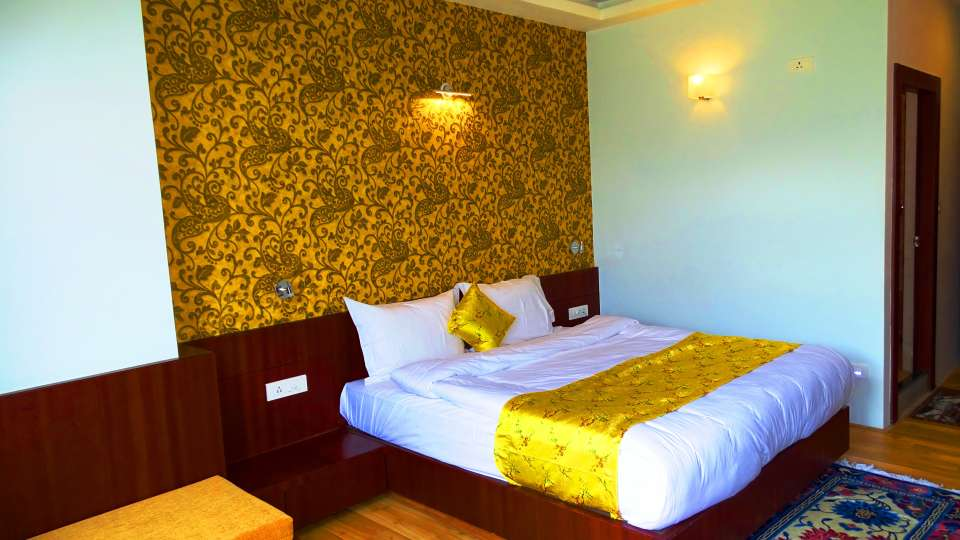 The Golden Crest Hotel Gangtok Gangtok Executive rooms from WIndow Wall paper 2