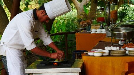 Restaurant at Corbett Wild Iris Spa Resort 5