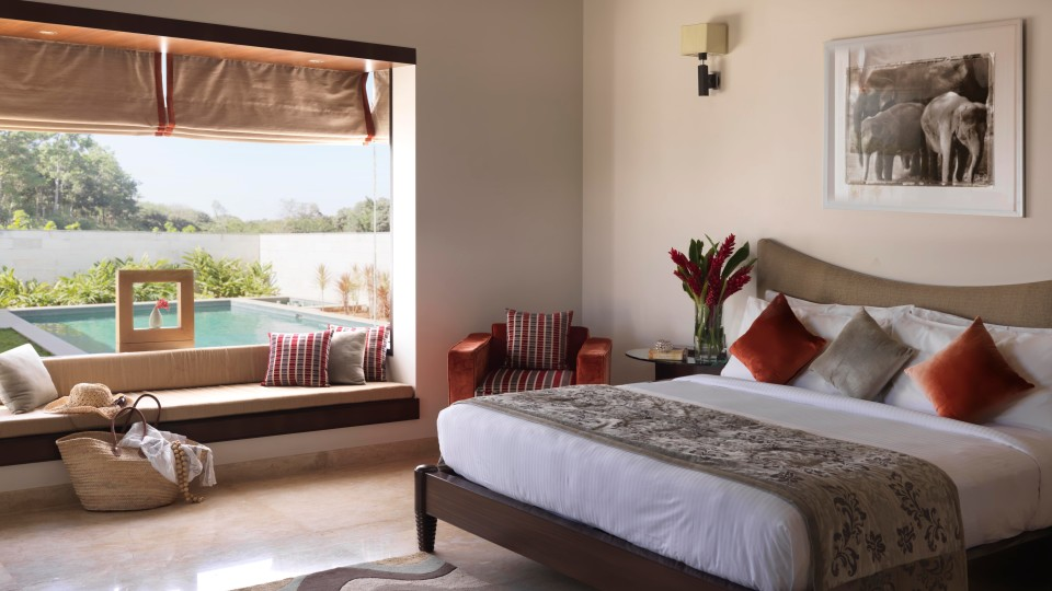 Presidential Bedroom, The Serai Chikmagalur, Stay in Chikmagalur, Luxury Resorts in Chikmagalur 11